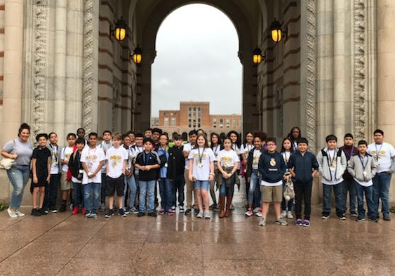 6th Gr. AVID at Rice University