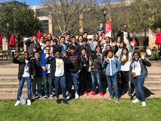 7th Grade AVID Students at University of St. Thomas