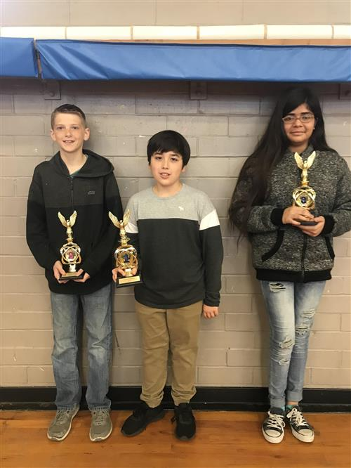 science fair winners photo