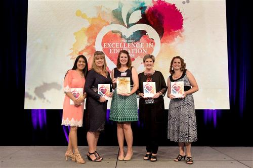 Cherry wins $5,000 in H-E-B Excellence in Education contest