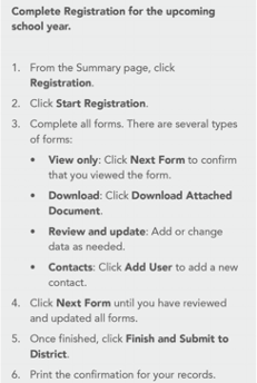 parent portal registration steps