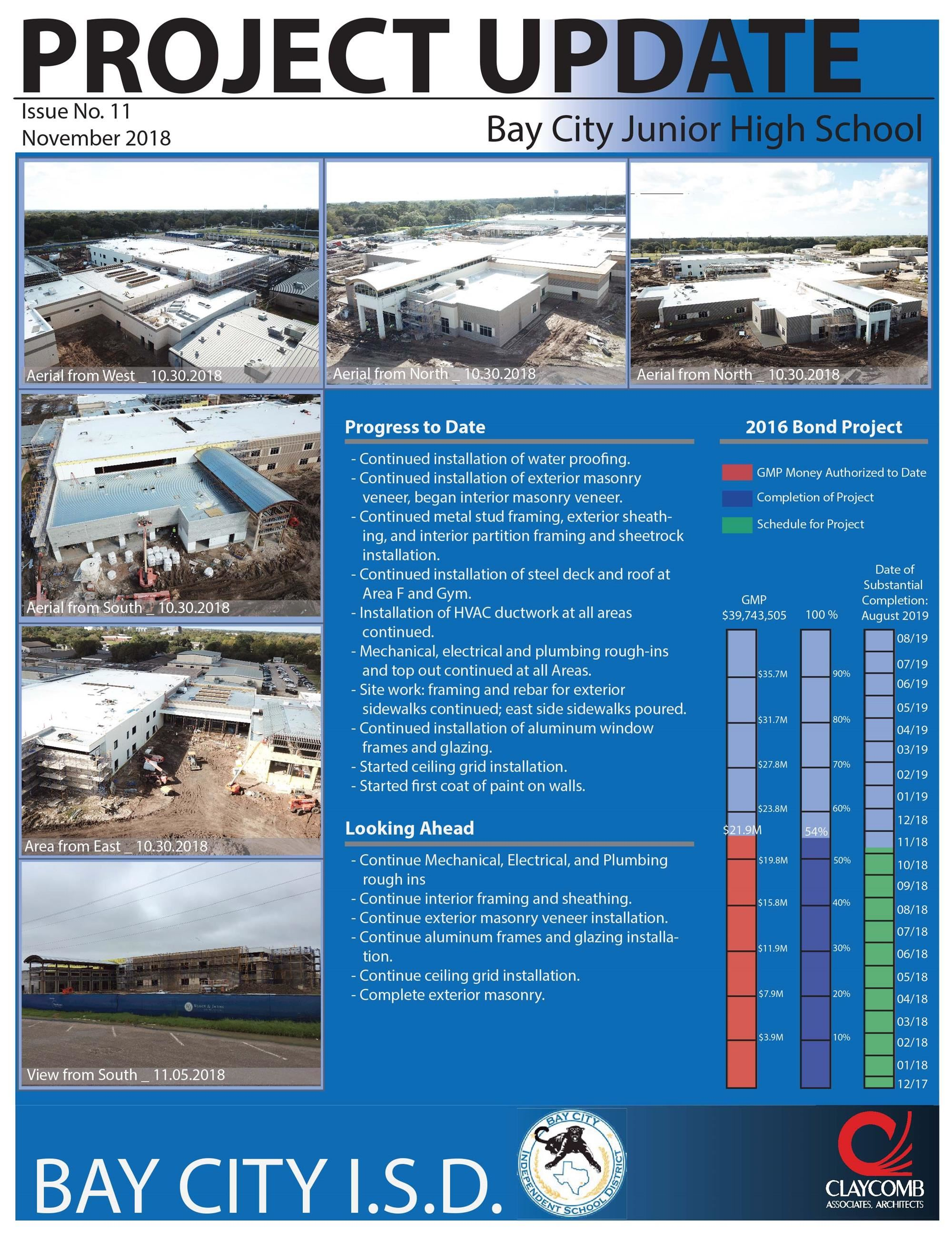 BCJH bond update Nov photo of PDF