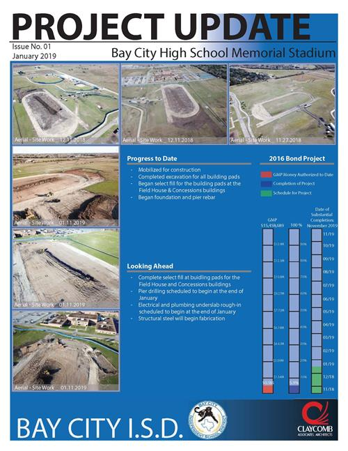 photo of stadium update flyer