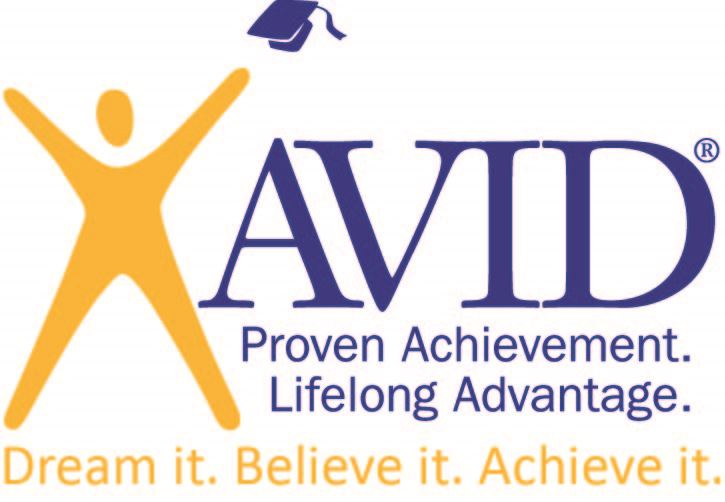 graphic of AVID logo