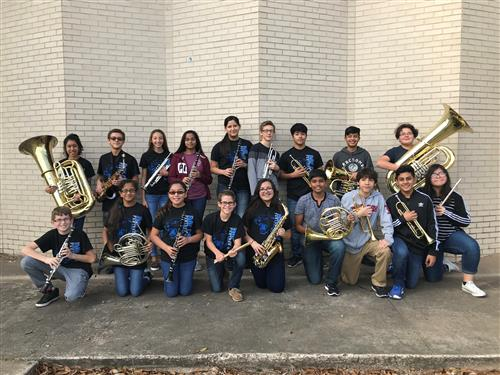 BCJH All-Region Band qualifiers