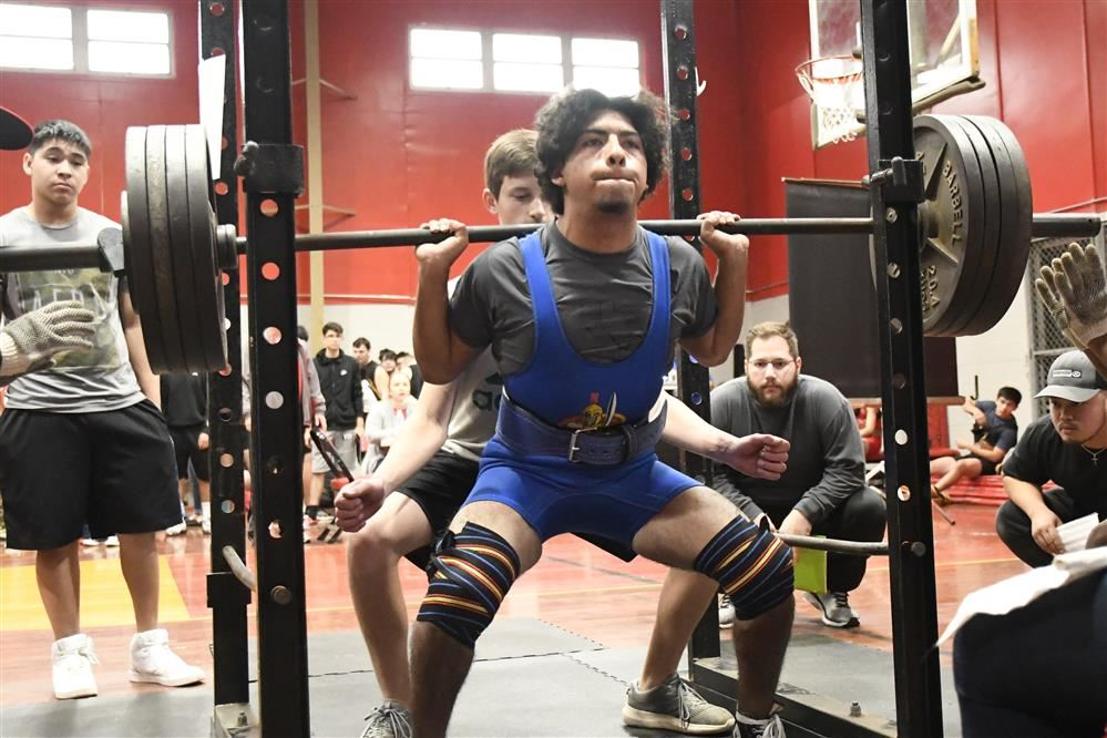 powerlifting photo by Larry Bose