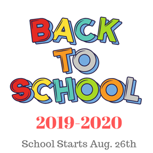 graphic of back to school