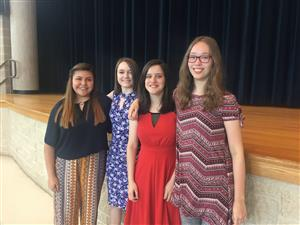 photo of Choir state solo and ensemble medalists