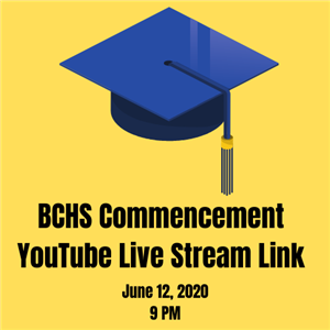 BCHS commencement livestream link