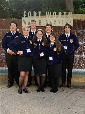 photo of FFA state convention attendees