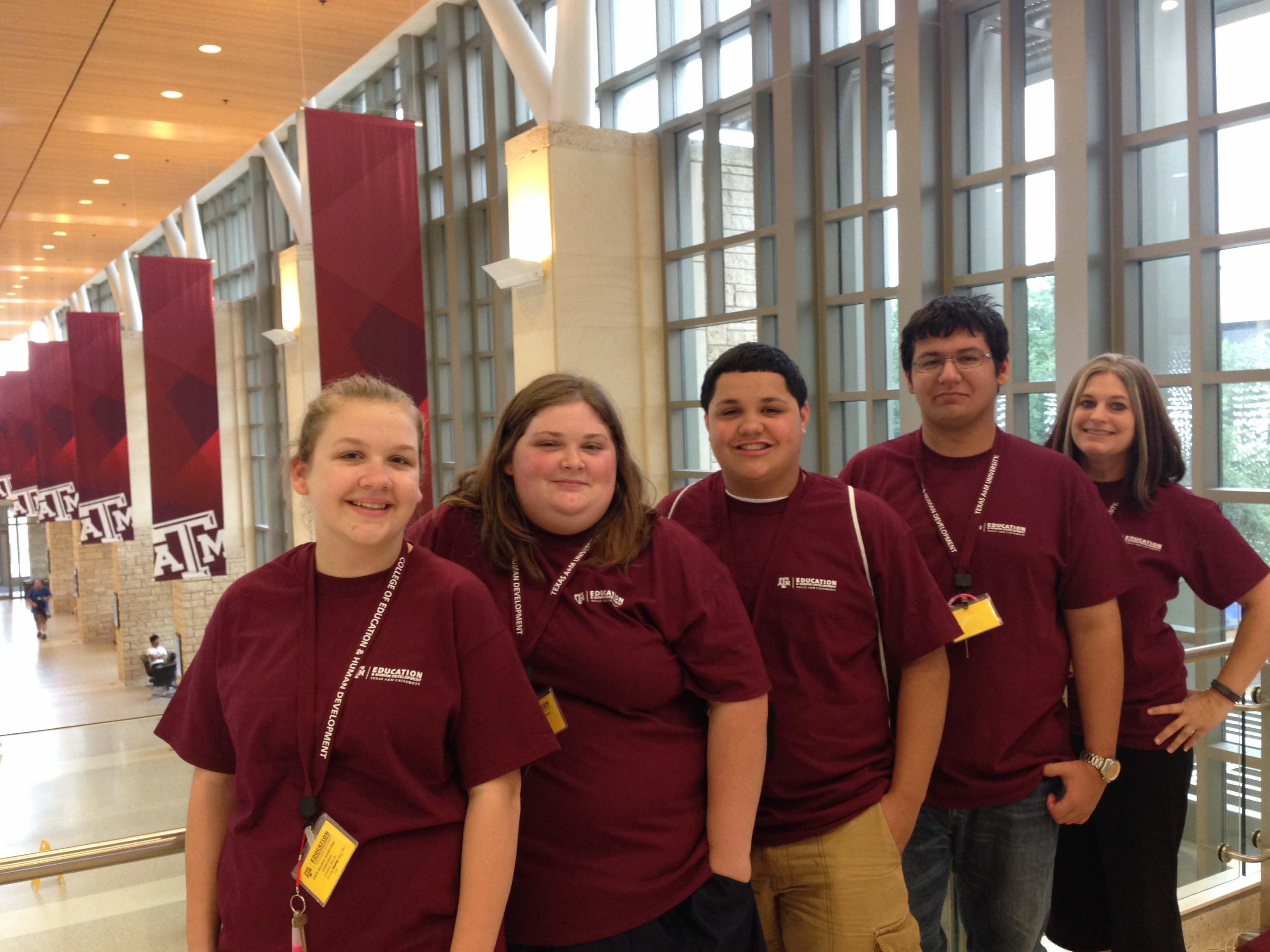 Tafe Members Attend Summer Leadership Camp